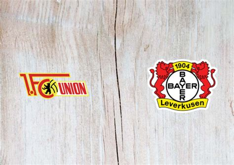 Union Berlin vs Bayer Leverkusen -Highlights 15 January ...