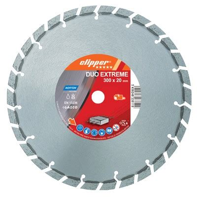 norton clipper zdh duo extreme concrete diamond blade mm general purpose premium
