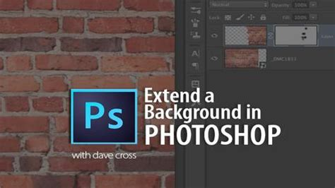 Extend Background Photoshop Extend A Background In Photoshop Learning Photoshop