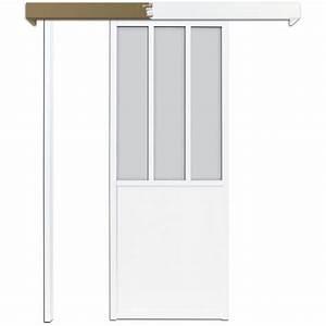 Porte Coulissante Atelier Castorama : porte verriere blanche verri re porte battante porte ~ Melissatoandfro.com Idées de Décoration