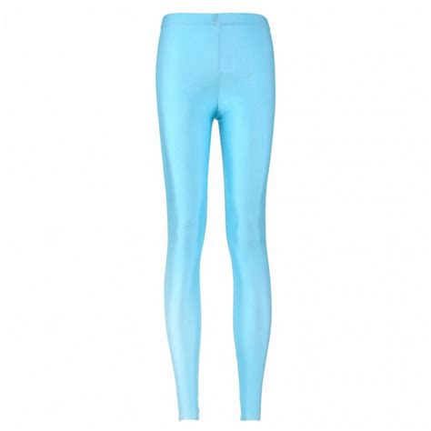 Light Blue Women 39 S Leggings Printed Yoga Pants Workout