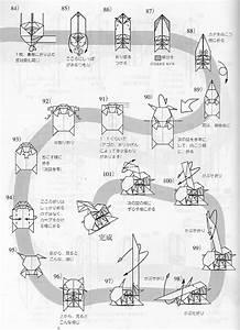 2 Pikachu Origami Diagrams