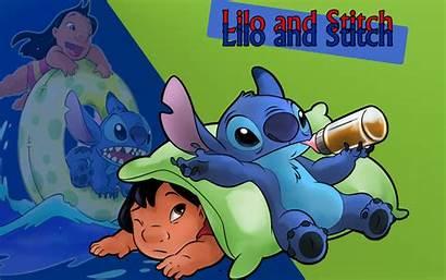 Stitch Lilo Wallpapers Disney Stephen August Wallpapersafari