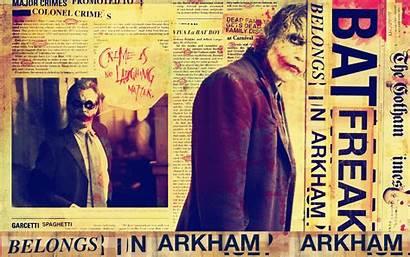 Joker Hahaha Haha Dark Knight Times Background