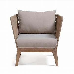 Fauteuil Jardin Design : fauteuil vintage de jardin bois et corde belleny by ~ Preciouscoupons.com Idées de Décoration