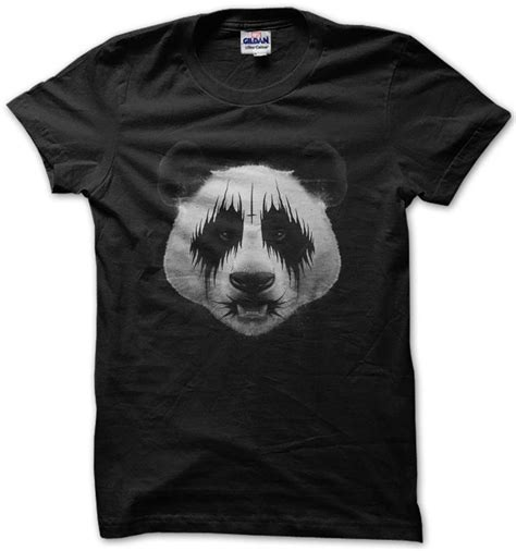 T Shirt Panda Black Metal Putih 25 best ideas about cross on