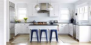 easy kitchen ideas within your budget With kitchen colors with white cabinets with wall art on a budget