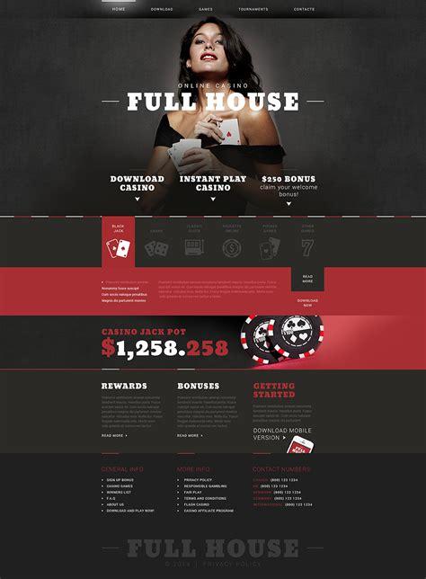 drupal bootstrap template creator online casino responsive website template 51244