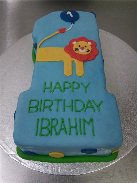 number  lion birthday cake crumbs cake shop sheffield
