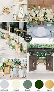 Gold and Green Wedding Colours Perfect For A Fresh