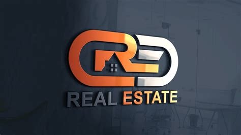 modern real estate company logo design psd graphicsfamily