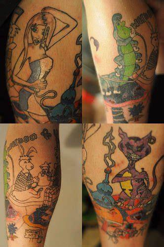 Tatuajes de Alicia en el pais de las maravillas Imágenes