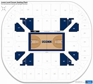 Gampel Pavilion Connecticut Seating Guide
