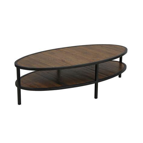 table basse ovale bois table basse ovale naturel interior s