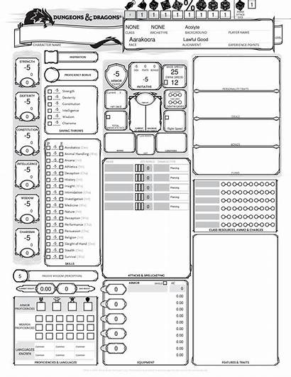 5e Character Sheet Pdf Complete Docdroid Optimized