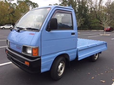 Hijet Mini Truck by Daihatsu Hijet 4x4 Mini Truck Classic Daihatsu Other