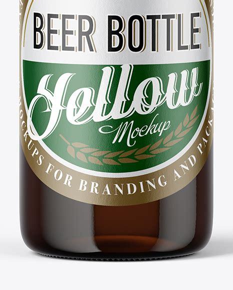 230g black beer premium beer glass bottle 330ml ingredients: 330ml Clear Glass Beer Bottle Mockup - High Quality ...