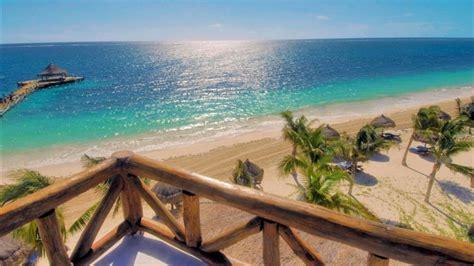 sandy beach  puerto morelos mexico hd wallpaper