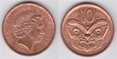 New Zealand 10 Cent Coin