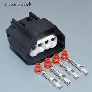 Shhworldsea 2 2mm 4pin Electric Waterproof Female Plug