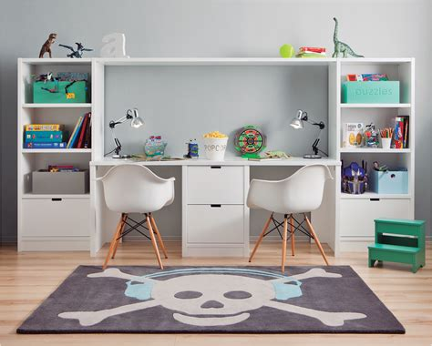 Bureau Garcon Ikea Génial Bureau Enfant Double Avec