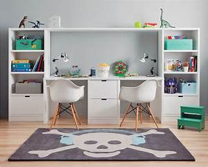 Bureau Ikea Enfant : bureau garcon ikea g nial bureau enfant double avec ~ Nature-et-papiers.com Idées de Décoration
