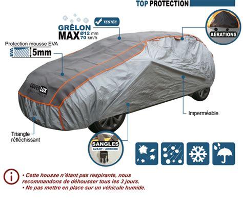 housse protection voiture anti gr 234 le en mousse coverlux top protection