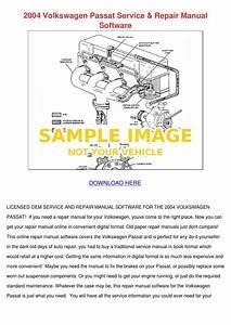2004 Volkswagen Passat Service Repair Manual By