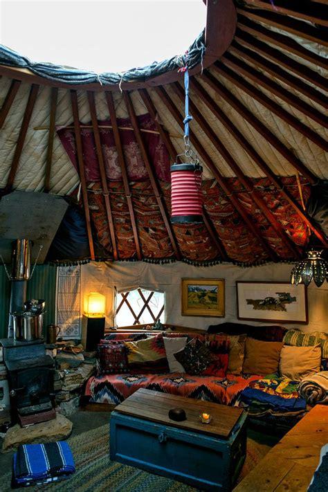 ideas   house  pinterest yurts yurt