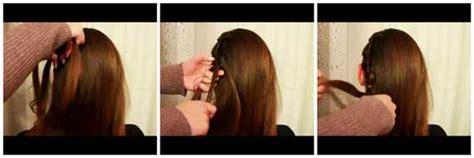 treccia attaccata alla testa laterale treccia laterale attaccata al capo tutorial beautydea