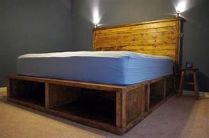 Ideas For Make Rustic Bed Frame Plans Editeestrela Design