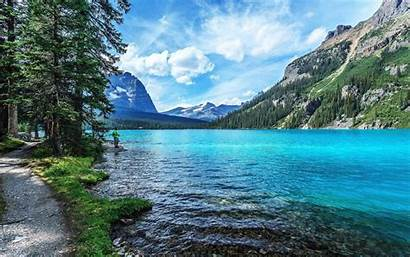 Screen Wallpapers Nature Laptop Mountains Sky River