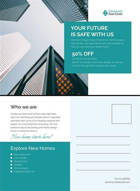 business postcard templates  sample