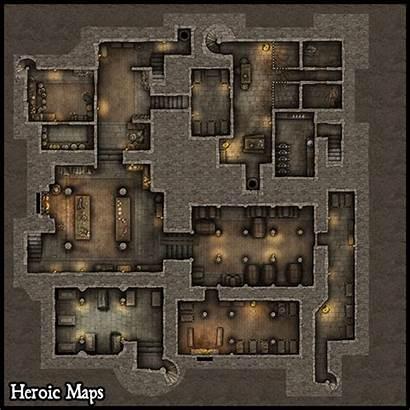 Castle Maps Heroic Storeys Winter Nbsp