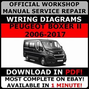 Official Workshop Service Repair Manual For Peugeot