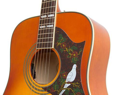 Harga Gitar Epiphone Dove Pro epiphone hummingbird dove and el 00 acoustic electric pros