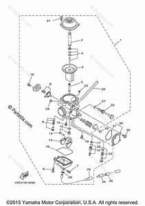 Yamaha Atv 2004 Oem Parts Diagram For Carburetor