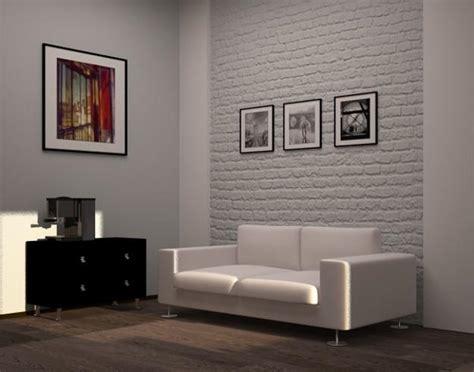 brick wallpaper ideas  living room  wallpapergetcom