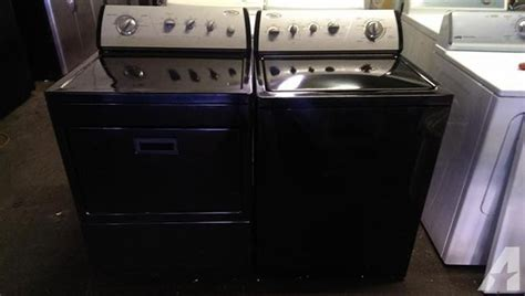 black washer and dryer look black whirlpool gold capacity washer