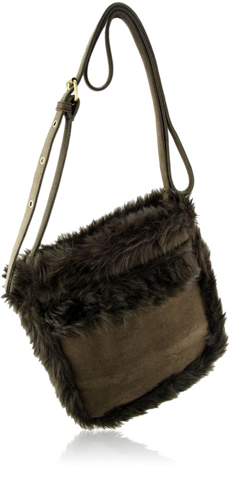 Our coffee bags meet fda and usda requirements for direct food contact. Wholesale L.S Coffee Shoulder Bag With Faux Sheepskin Detail