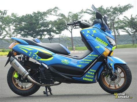 Modifikasi Yamaha Nmax by 53 Modifikasi Yamaha Nmax 2015 Modifikasi Yamah Nmax