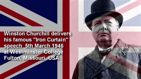 churchills iron curtain speech summary the world s catalog of ideas