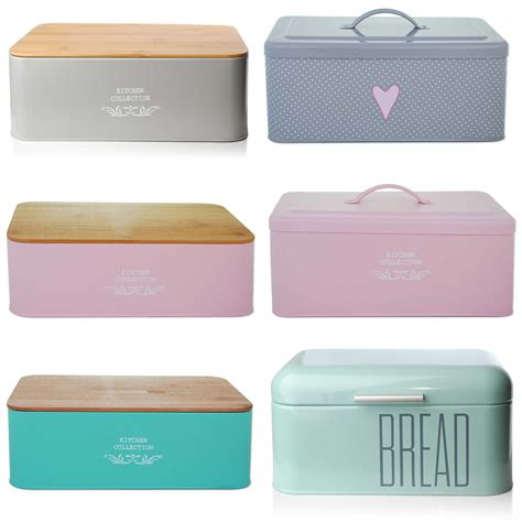 kitchen storage containers shopping bread holder bin box vintage design home kitchen storage 8619