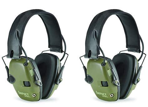 electronic shooting noise ear protection hearing earmuffs earmuff headphones range shooters sound leight howard gun impact sport honeywell pack ears