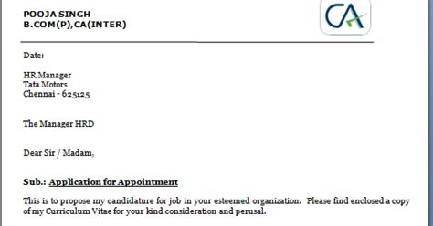 Kindly Find Enclosed My Resume For Your Perusal by Sle Of Application Letter