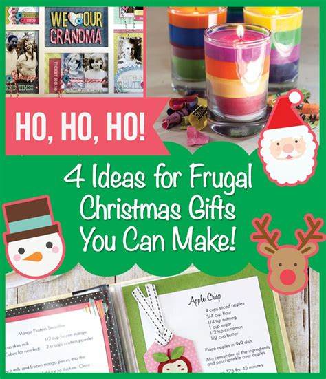 christmas gifts you can make 4 ideas for frugal christmas gifts you can make doodle hog