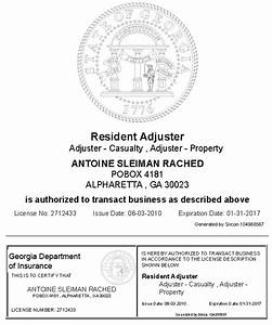 atlanta diminished value credentials georgia diminished With auto claims adjuster license