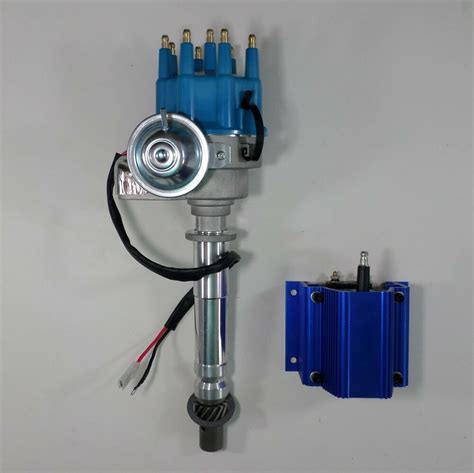 small big block chevy blue small cap ready to run hei distributor 50 000 coil ebay