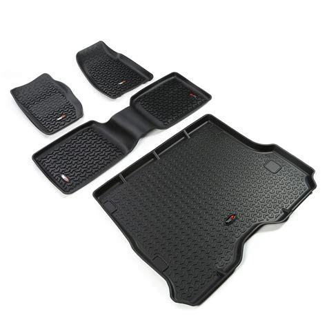 Jeep Xj Floor Pan Kit by Rugged Ridge 12988 30 Floor Liners Kit Black 84 01 Jeep