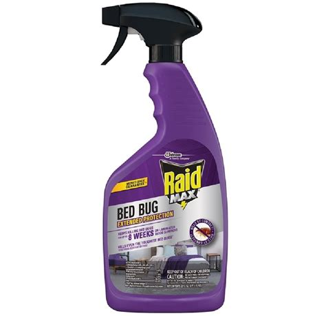 raid max  bed bug trigger spray  oz lifeandhomecom